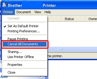 Unable to print from Windows 7 using a USB cable